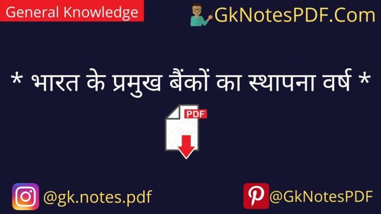Indian Bank Aur unke Sthapana Diwas