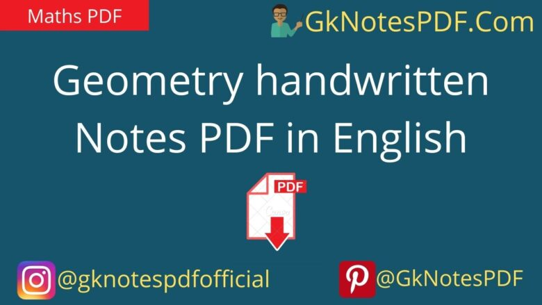geometry notes for ssc cgl pdf in english