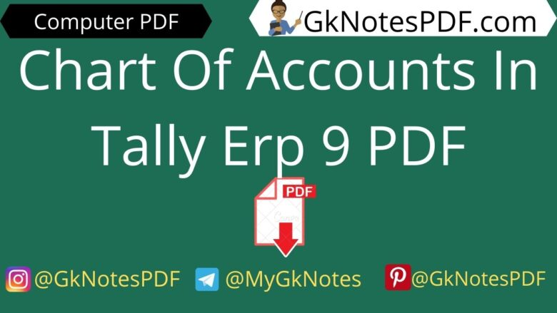Chart Of Accounts In Tally Erp 9 PDF