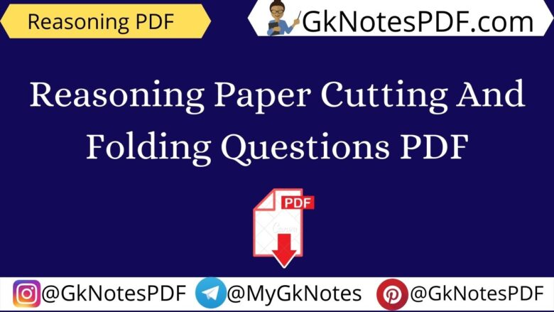 paper cutting and folding questions pdf